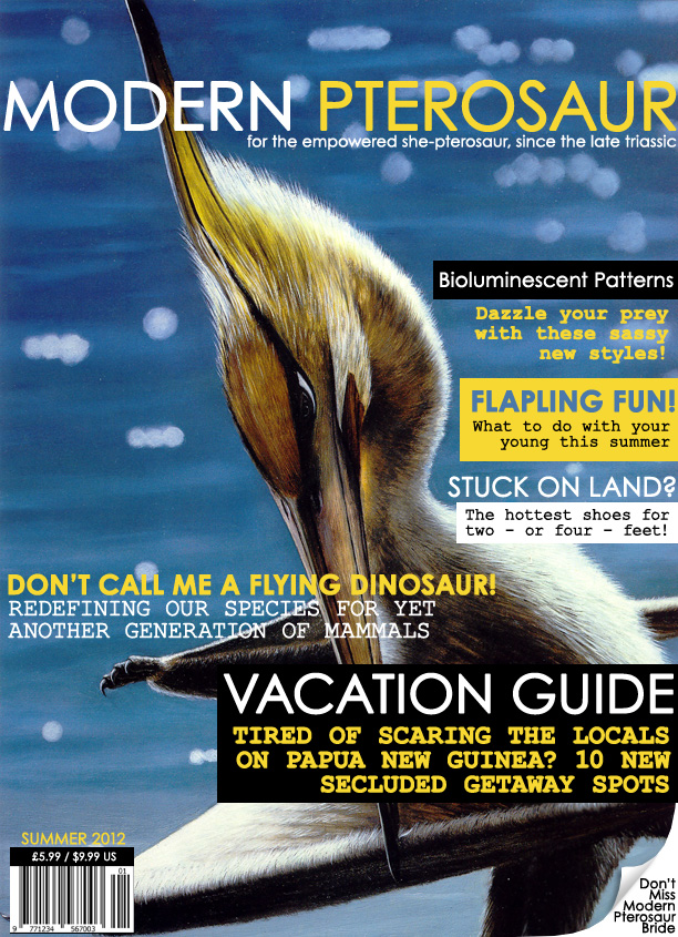 "humorous ""Modern Pterosaur"" magazine"