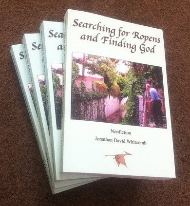 """Searching for Ropens and Finding God"" - front cover - non-fiction book"